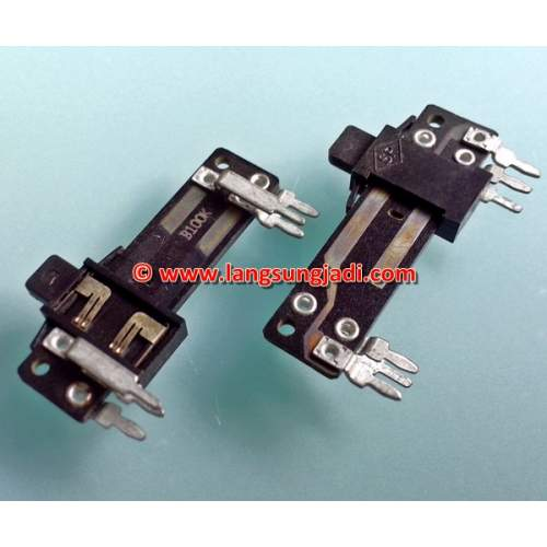 2xB20K mini slide potentiometer, each