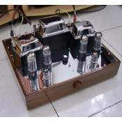 LJ EL34-6AN8 Push-pull Stereo Amplifier, 2x35W (inspired by Dynaco ST-70)