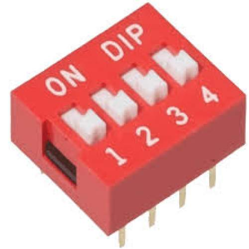 4-Way DIP Switch, each