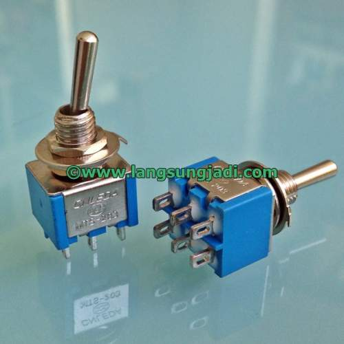 DPDT Toggle Switch (ON-ON), each