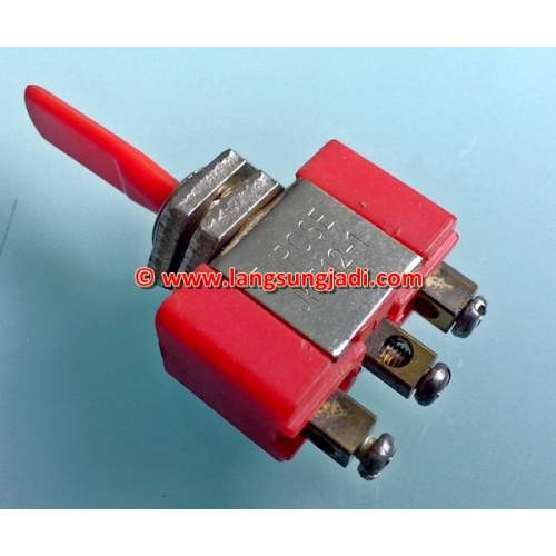 SPDT Large Toggle Switch (ON-OFF-ON), each