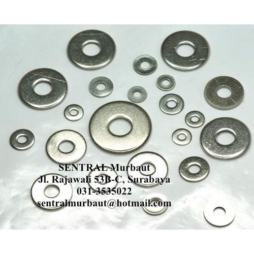 3 mm ring plate, 100 pcs