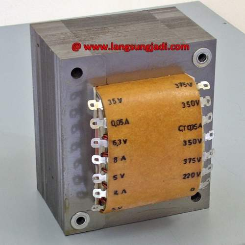 Custom Power Transformer for Tube Push-pull Amp (375V-CT 350mA), each
