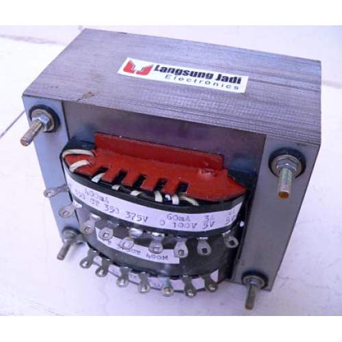 Custom Power Transformer for Tube Push-pull Amp (375V-CT 400mA), each