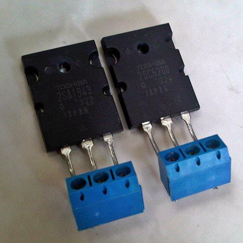 2SA1943+2SC5200 PNP/NPN transistor, pair