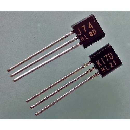 2SK170+2SJ74 Toshiba, low noise audio FET, matched pair